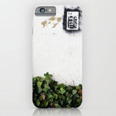 Television versus nature Slim Case iPhone 6s