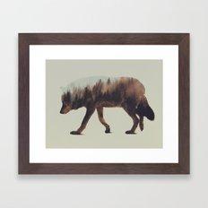 Norwegian Woods: The Wol… Framed Art Print