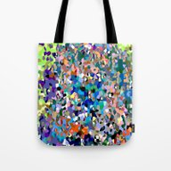Tote Bag featuring Crystallize 6 by Latidra Washington