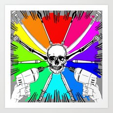 ColorWheel Art Print
