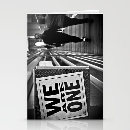 We Are One Stationery Card