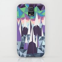 Galaxy S5 Cases featuring Arctic Mountains by Bakmann Art