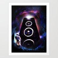 Sound Odyssey Art Print
