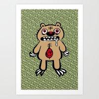ZOMBEAR Art Print