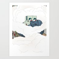 Art Print featuring Riots by DÖNU