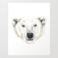 Polar Bear! Art Print