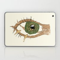 the eye of the bird Laptop & iPad Skin