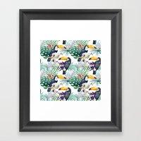 Tropical Watercolor 2 Framed Art Print