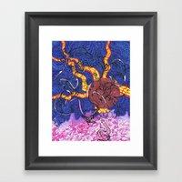Edge of the Earth Framed Art Print