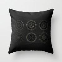 Inner Space 7 Throw Pillow