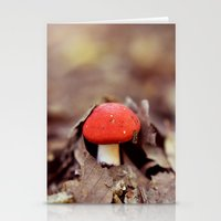Red Cap Stationery Cards