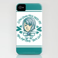 iPhone 4s & iPhone 4 Cases featuring Von Karma by bitterkiwi