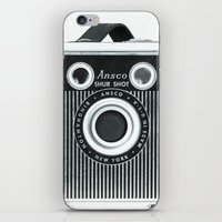 Box Camera Retro - Photo… iPhone & iPod Skin