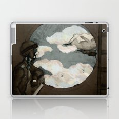 Aviator Girl (Steampunk) Laptop & iPad Skin