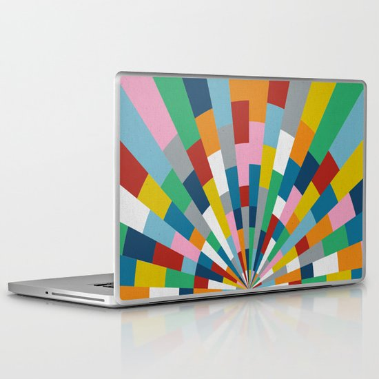 Tick Tock Brick Laptop & iPad Skin