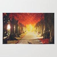 Autumn paradise. Rug