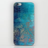 On The Verge Of Blue iPhone & iPod Skin