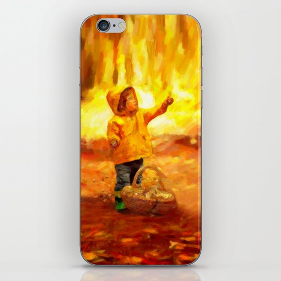 The Little Collector - Painting Style iPhone & iPod Skin