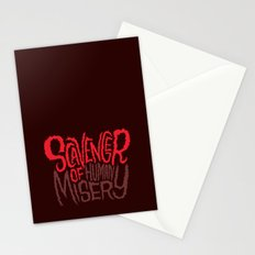 Scavenger of Human Misery Stationery Cards