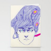 Hair Play 08 Stationery Cards