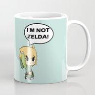 I'm Not Zelda! (link Fro… Mug