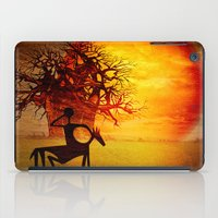 Visions of fire iPad Case