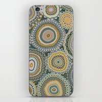 Boho Patchwork-Mineral Colors iPhone & iPod Skin
