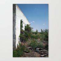balmorhea, texas structure Canvas Print