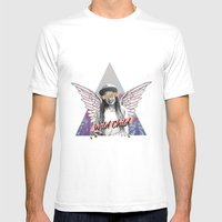Wild Child Mens Fitted Tee White SMALL