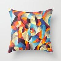 Color Power Throw Pillow