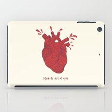Hearts are Gross iPad Case