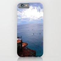iPhone & iPod Case featuring Positano: Amalfi Coast, Italy by JuliHami