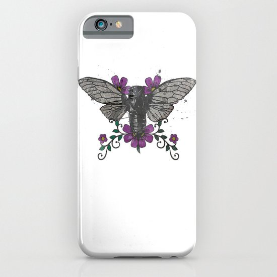 Seventeen Year Locust iPhone & iPod Case