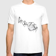 Disaster  SMALL Mens Fitted Tee White