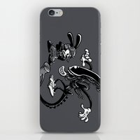 Alien Vs Oswald iPhone & iPod Skin