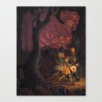 The Middle of the Night Canvas Print