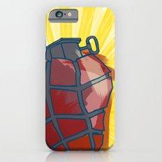 My Heart goes boom iPhone 6s Slim Case