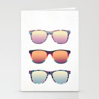 PUT YOUR GLASSES ON ...  Stationery Cards