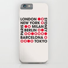I Love This City Typography Slim Case iPhone 6s