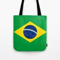 Brazilian National Flag … Tote Bag