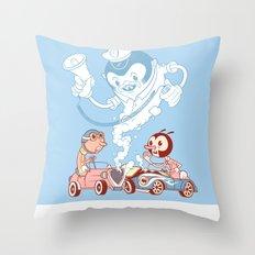 CrashBoomBang Throw Pillow