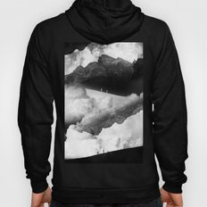 State of black and white isolation Hoody