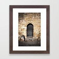 Histoire De Portes Framed Art Print