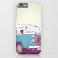 vw iPhone & iPod Cases featuring VW Combi v.02 by CranioDsgn