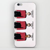 Stages Of Riker iPhone & iPod Skin