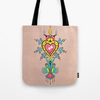 The Heart Rules Tote Bag