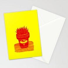 suculenta espacial Stationery Cards