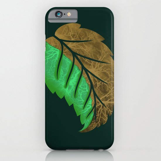 Drying Leaf iPhone & iPod Case