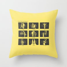 Tourist Shot User Manual Throw Pillow