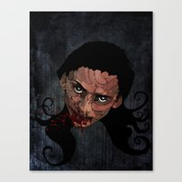 catching Chaos Canvas Print